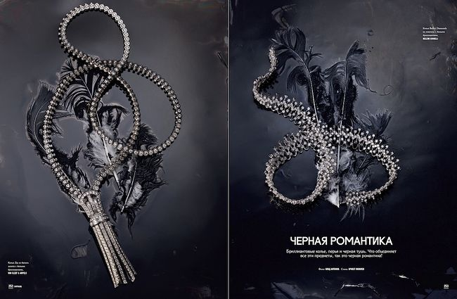 Vlad Antonov. Jewellery. L'OFFICIEL Russia