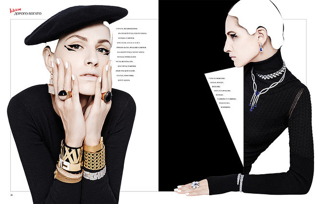 Vlad Antonov. Jewellery. INTERVIEW MAGAZINE RUSSIA