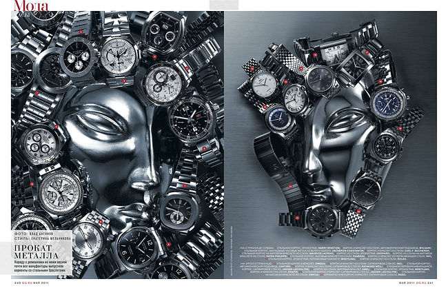 Vlad Antonov. watches. Без названия